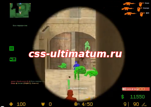 Wallhack p7hook для css v34