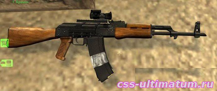 Модель SIG 552 AK47 для Cs Source