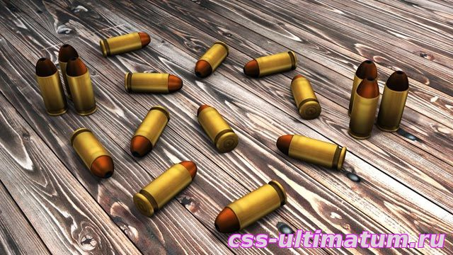 Гильзы 9mm для Cs Source