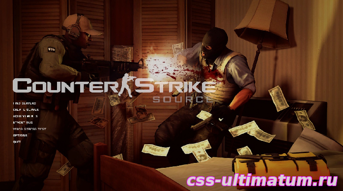 Фон для Counter-Strike Source