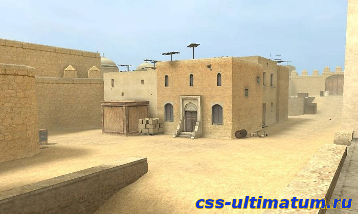 Карта  awp_nl_dust2 для Cs Source