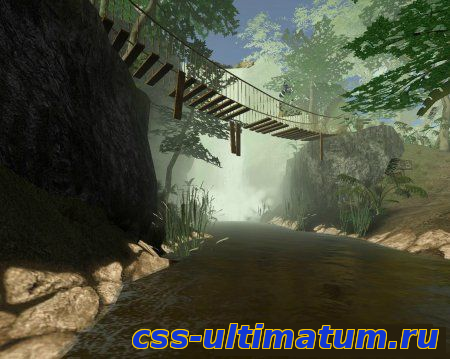 Карта de_jungle_beta_v2 для Cs Source