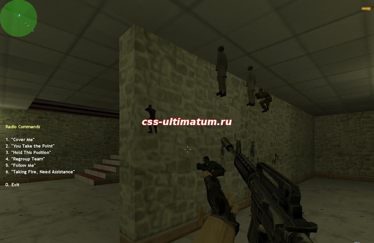 Чит Simple XQZ Wallhack для CS 1.6