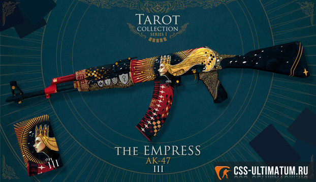 Модель AK-47 The Empress для CS Source