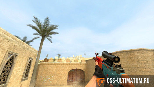 Модель оружия Candy Slapper SG552 для Counter Strike Source