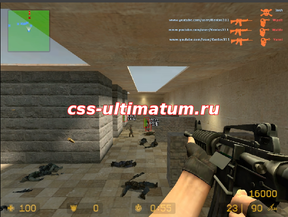 Чит Privat OldSchoolHack для CSS V84 No-Steam