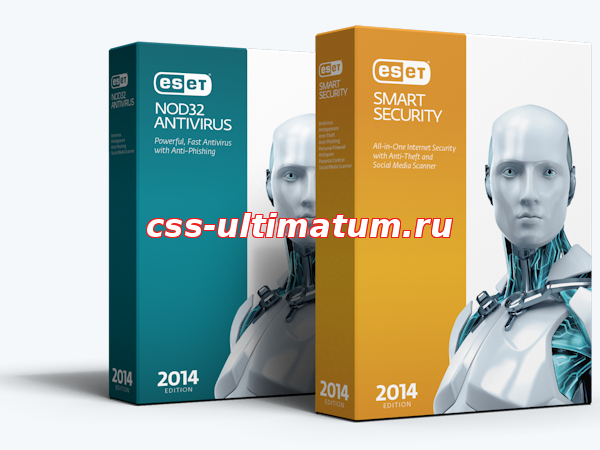 ESET Smart Security + NOD32 Antivirus 8.0.304.1 (2014) РС